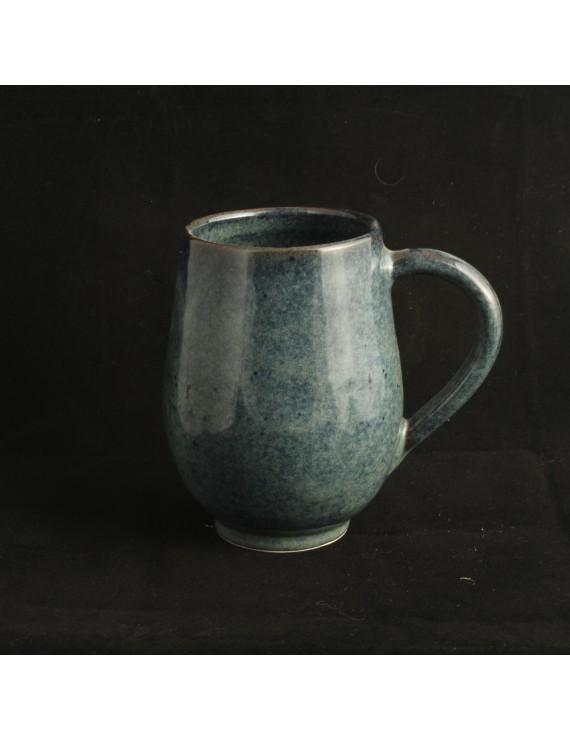 Floating Blue Mug
