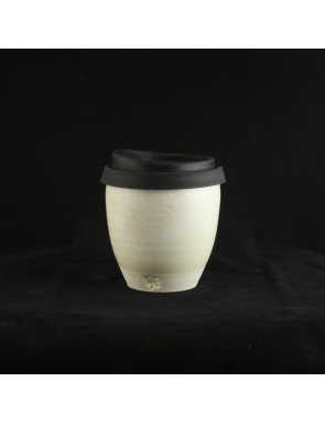 Titanium glazed Small Travel Cup