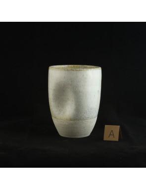 Titanium white speckle Thumbler