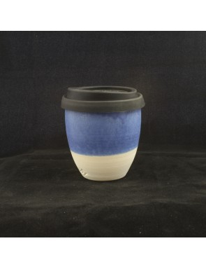 Matt royal Blue Small Travel Cup