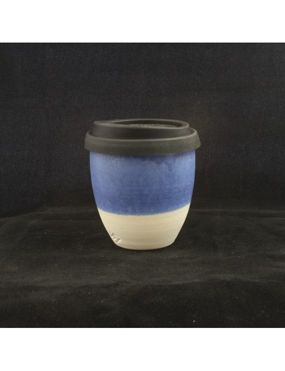 Matt royal Blue Small Travel Cup