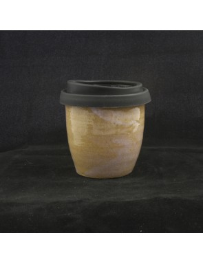 Opal over buff Small Travel Cup