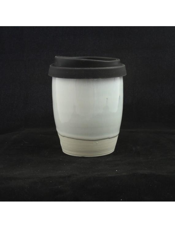 Opal glazed Travel Cup