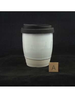 Opal glazed Travel Cup