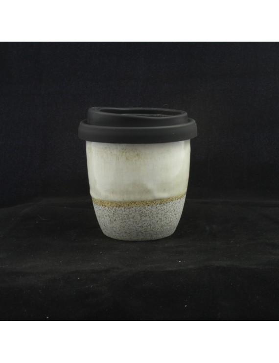 Titanium on Waipu clay Small Travel Cup