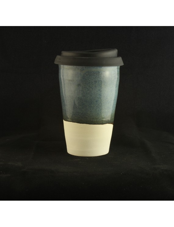 Floating Blue Travel Cup